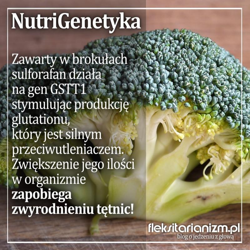 NutriGenetyka: Brokuły